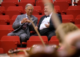 Prince Charles meets Durham Music Expert in Documentary on the Composer of �Jerusalem�