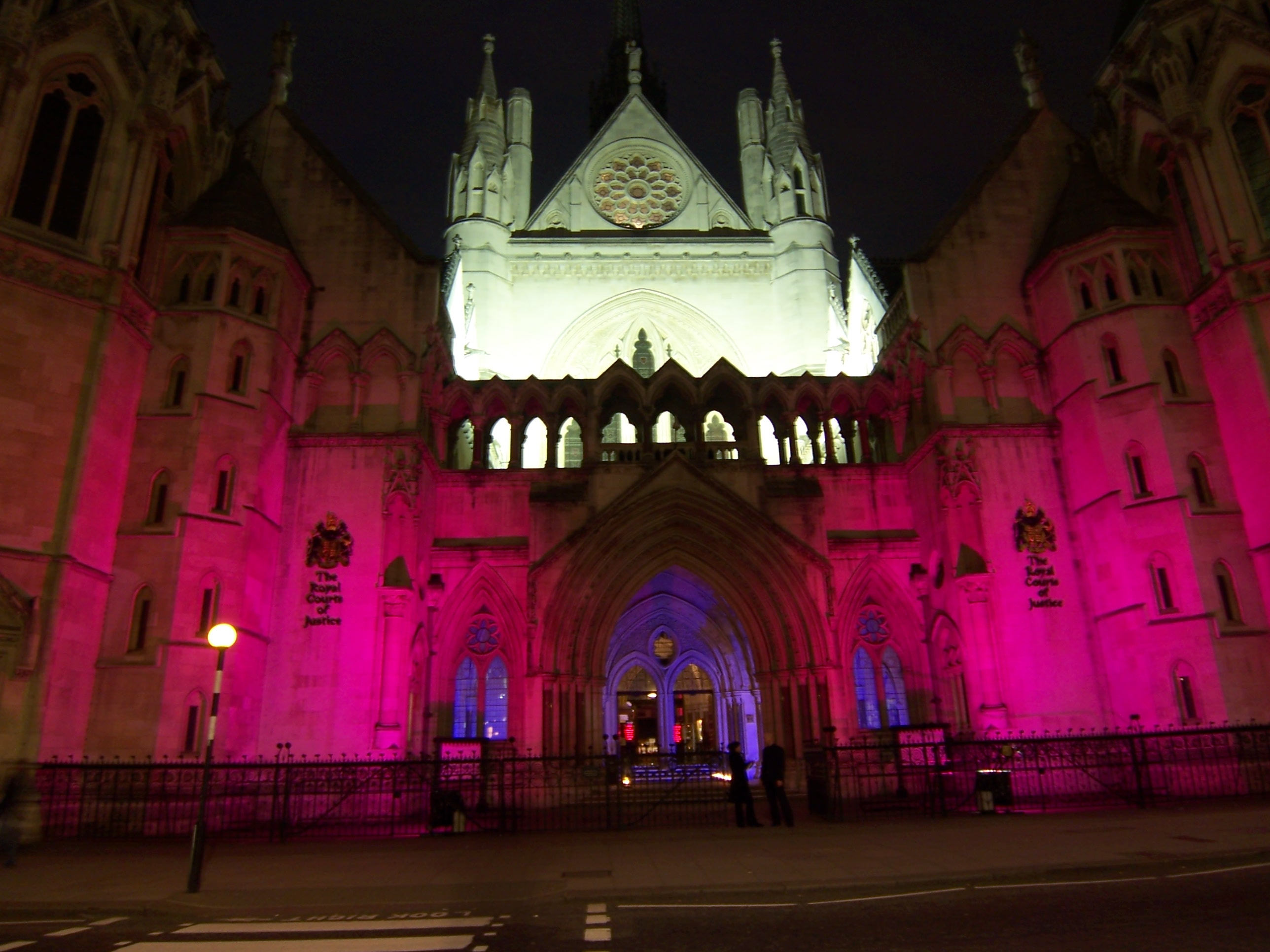 Palatinate Christmas Ball, Royal Courts of Justice, London � Friday 16 December 2011, from 7:00pm until Midnight