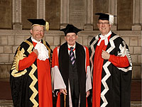 Leading Catholic Theologian Receives Honorary Degree from Durham University