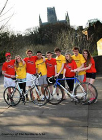 Durham University Charity Cycle Expedition 2012